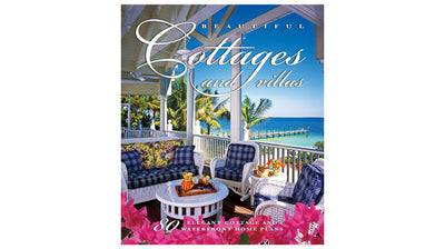 """Beautiful Cottages and Villas"" book, front cover"