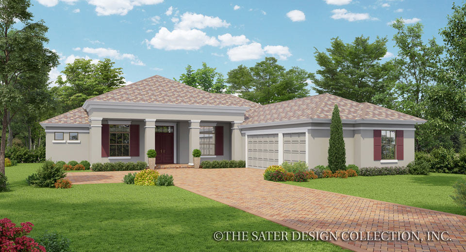 Home plan denford sater design collection for British house plans