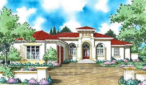 Spanish Colonial House Plans