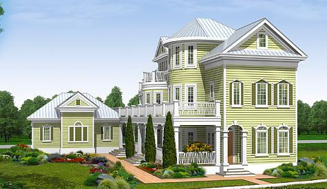 Three-Story House Plans