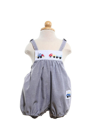 Truck Romper -  -  - Lullaby New Zealand