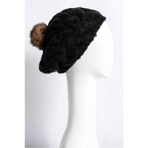 Knitted beret, [product type], Lullaby New Zealand
