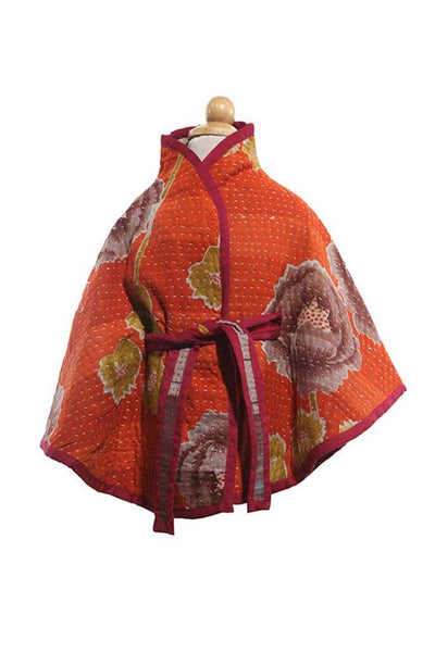 Cape Cotton Small - Cape - 2-4yr / Orange - Lullaby New Zealand - 3