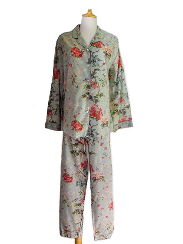 Vanessa Cotton Pyjamas - Duck Egg Blue, [product type], Lullaby New Zealand
