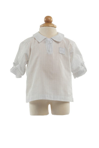 Todd Cotton Shirt - Shirt -  - Lullaby New Zealand