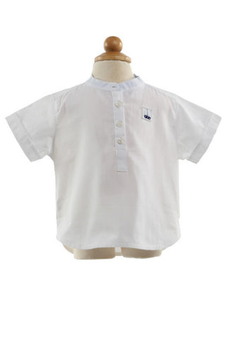 Ryan Cotton Shirt - Shirt -  - Lullaby New Zealand