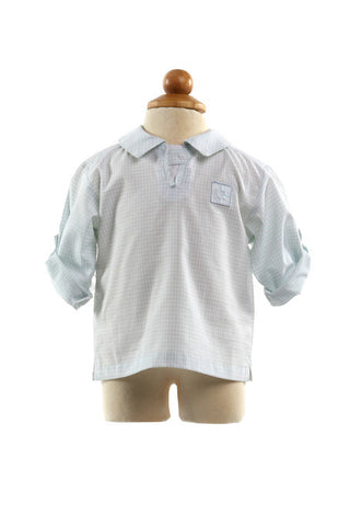 Harry Cotton Shirt - Shirt -  - Lullaby New Zealand