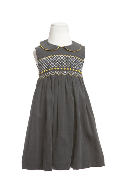 Sophie Smocked Dress, [product type], Lullaby New Zealand