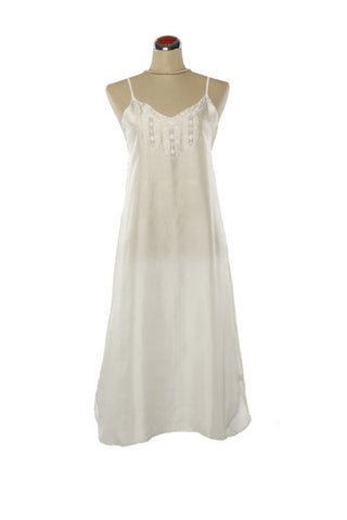 Chloe Silk Nightdress - Nightdress -  - Lullaby New Zealand
