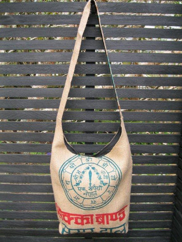 Jute Bag - Sundial, [product type], Lullaby New Zealand