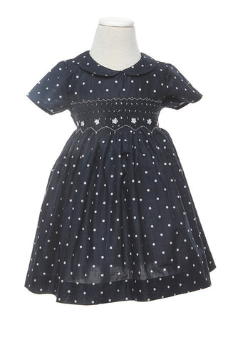Kate Smocked Dress - Dress -  - Lullaby New Zealand - 1
