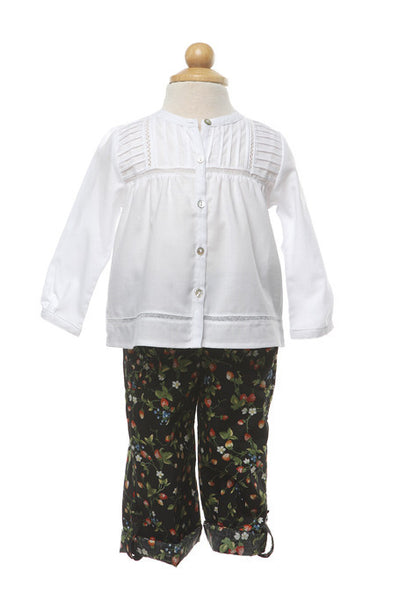 Strawberry Pants - Pants -  - Lullaby New Zealand - 1