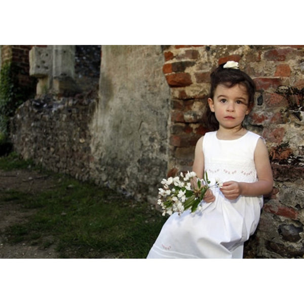 Lily Smocked Dress, [product type], Lullaby New Zealand