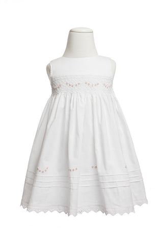 Lily Smocked Dress - Dress - 4 yr - Lullaby New Zealand - 1