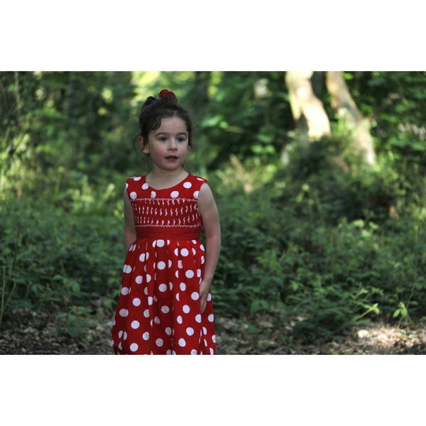 Alana Smocked Dress - Dress -  - Lullaby New Zealand - 2