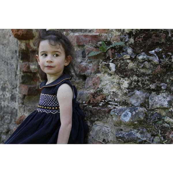 Sophie Smocked Dress - Dress -  - Lullaby New Zealand - 2