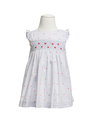 Sabina Smocked Dress, [product type], Lullaby New Zealand