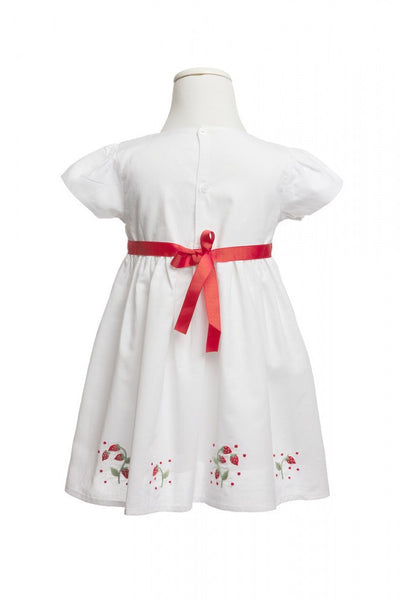 Sienna Strawberry Dress - Dress -  - Lullaby New Zealand - 2