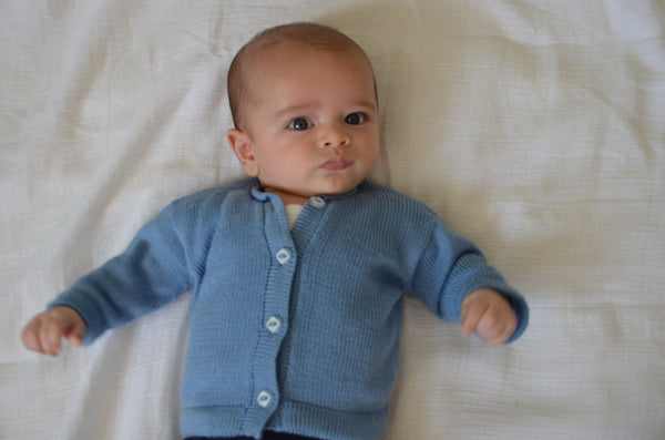 Merino Button Up Cardigan, [product type], Lullaby New Zealand