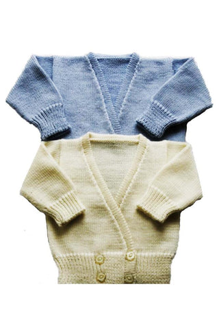 Merino Crossover Cardigan - Cardigan -  - Lullaby New Zealand