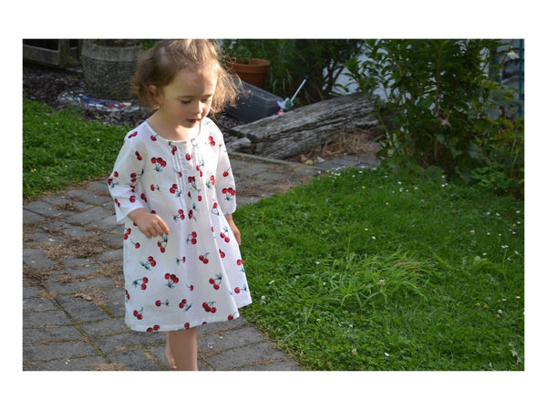 Cherry Nightdress, [product type], Lullaby New Zealand