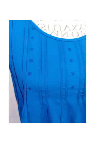 Pintuck Nightdress – Royal Blue