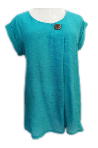 Colleen Top Teal