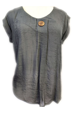 Colleen Top Charcoal