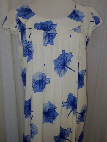 Poppy Blue Nightdress