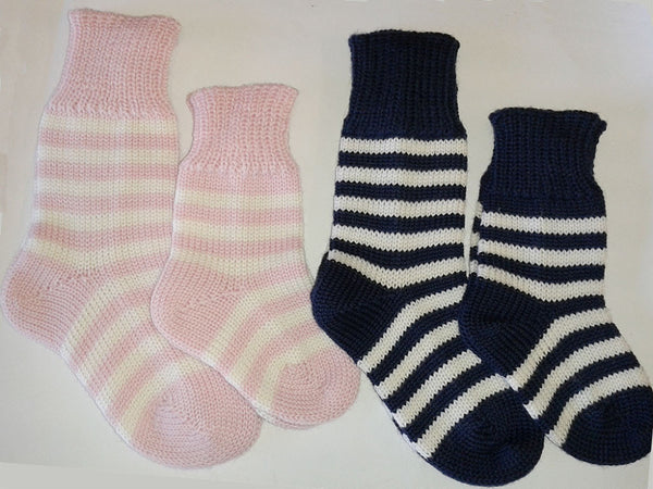 Merino Baby Socks - Socks -  - Lullaby New Zealand - 1