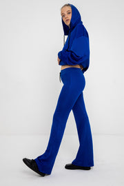 Flared Lifestyle Pants - Royal Blue