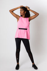 Lucky Numbers Tank Top Pink