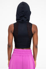 Performance Hooded Top - Black