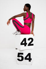 Lucky Numbers Leggings - Pink
