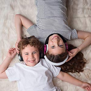 Volume Limited Kids' Bluetooth Headphones