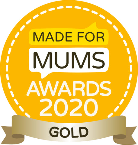 Gold Award by Made For Mums for Family Travel Product