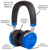 JuniorJams: Top Rated Volume Limited On-Ear Headphones For Kids with Built in Microphone