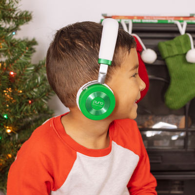 JuniorJams Volume Limited On-Ear Headphones For Kids with Built in Microphone