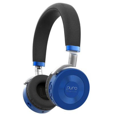 Puro Sound Labs Volume Limited JuniorJam Bluetooth Headphones-Blue