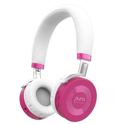 Puro Sound Labs Volume Limited JuniorJam Bluetooth Headphones-Pink