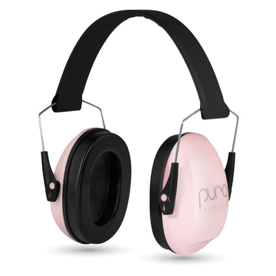 PuroCalm™ Earmuffs Adjustable Hearing Protectors-Pink