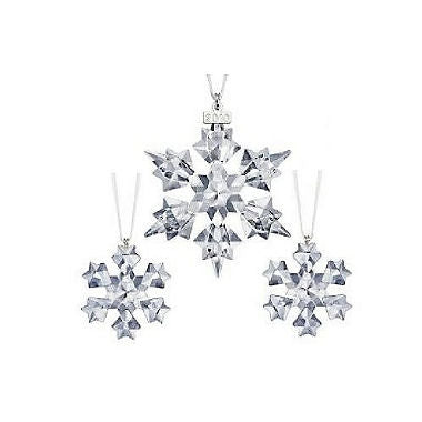 SWAROVSKI 2010 CHRISTMAS ORNAMENT SET