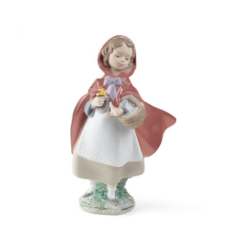 Lladro Little Red Riding Hood Figurine