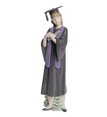 Nao by Lladro Graduation Joy Figurine