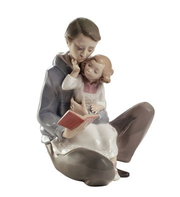 Nao by Lladro Read Me A Story Figurine