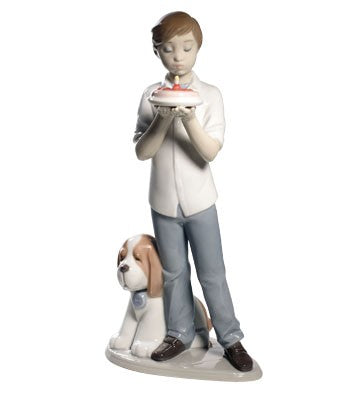 Nao by Lladro A Birthday Wish Figurine