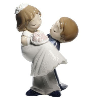 Nao by Lladro Love Is You And Me Figurine