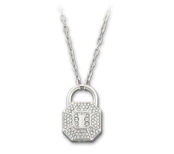 Swarovski Surely Lock Necklace