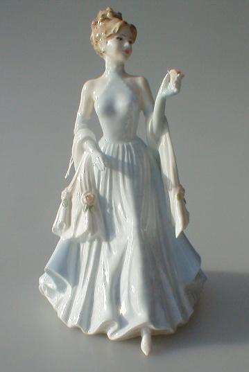 Coalport The Collingwood Collection Norma Figurine