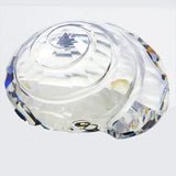 Swarovski Crystal Spiral Top Shell Seashell
